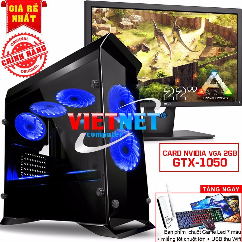 May Tinh Game Khủng I5 4460 Card Gtx 1050 Ram 16Gb 2Tb Ssd120Gb Lcd Dell 22In Rẻ