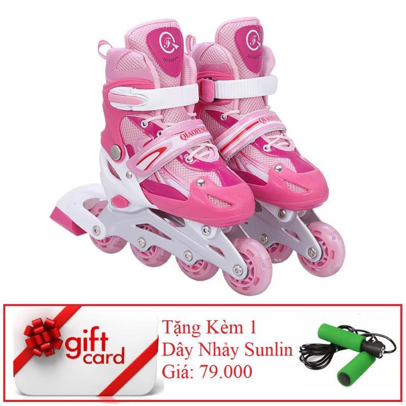 Phân phối Giày Trượt Patin Phát Sáng Bánh Cao Cấp (Size L) - TiGi Mall - Tặng Kèm 1 Dây Nhảy