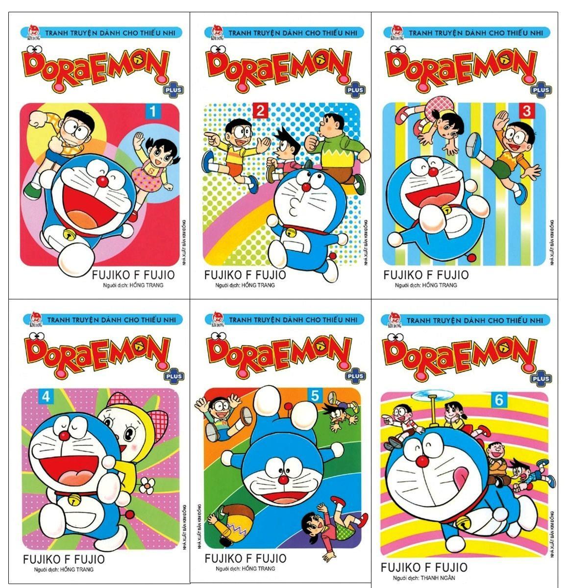 Combo Doraemon Plus (Trọn Bộ 6 Tập) Giá Siêu Cạnh Tranh