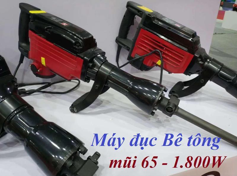 Máy đục bêtông 65 ly 1.800W  R1-65
