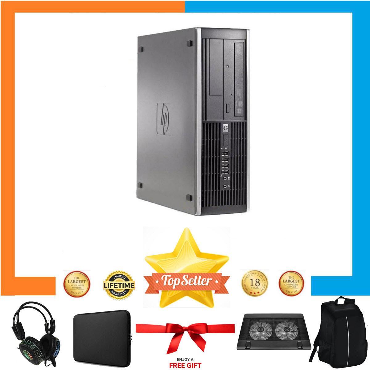 Máy tính Văn Phòng HP 6200 Pro Nguyên Bản, Chạy G640, Ram 8GB, SSD 120GB, HDD 2TB + Bộ Quà Tặng