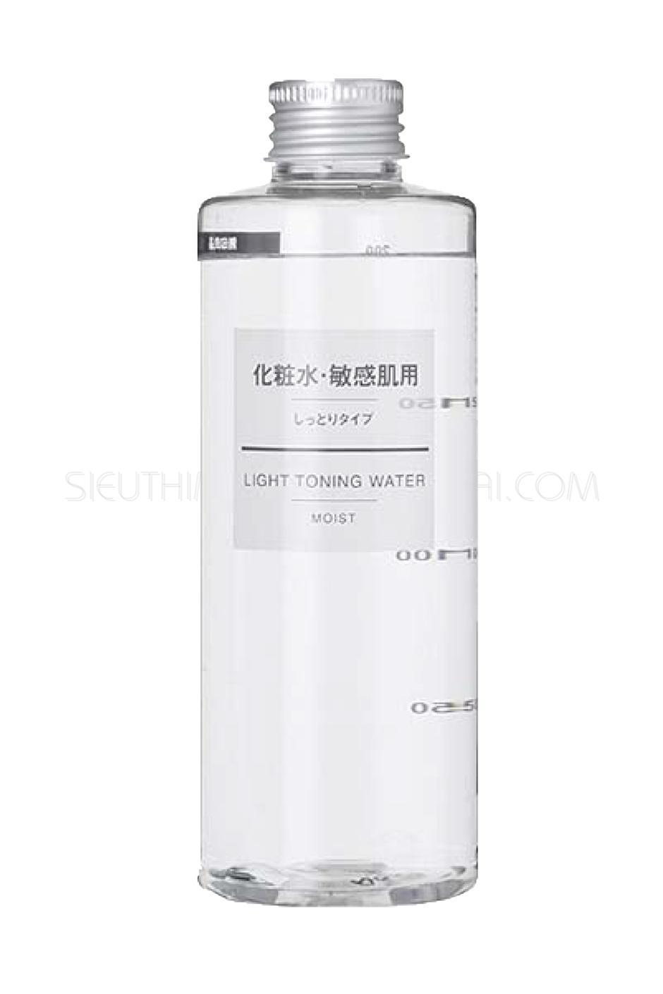 Nước hoa hồng dành cho da dầu Muji Light Toning Water 200ml