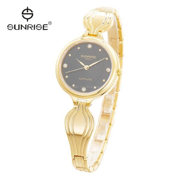 Đồng hồ nữ lắc tay siêu mỏng Sunrise 9937SA Fullbox hãng kính Sapphire chống nước chống xước tốt bán chạy