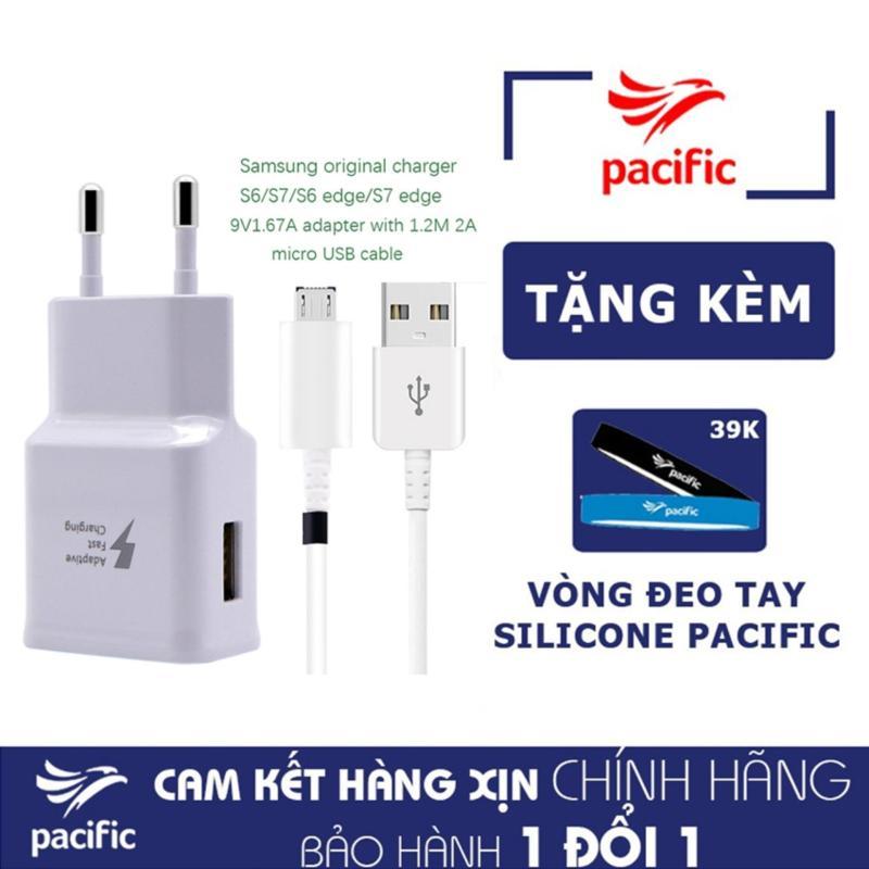 Bộ Sạc Nhanh Samsung Galaxy J2 Prime - Tặng Vòng đeo tay Silicone Pacific