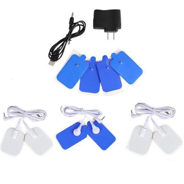 Bộ 8 miếng dán dùng cho máy massage trị liệu 8 miếng dán đa chức năng, máy trị liệu 4 miếng dán, máy massage cổ