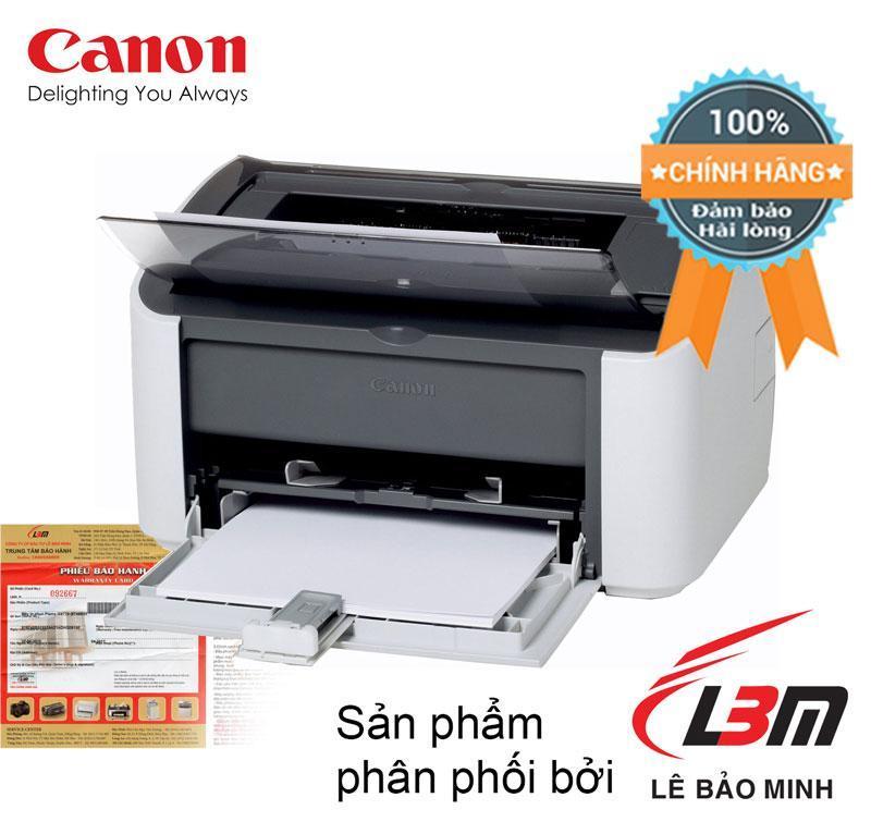 Máy in Laser đơn chức năng Canon LASER SHOT LBP2900 tem Lê Bảo Minh (A4 - Mono - trắng, đen)