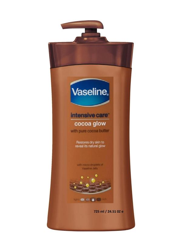 Dưỡng thể Vaseline Intensive Care CoCoa Glow 725ml - nâu