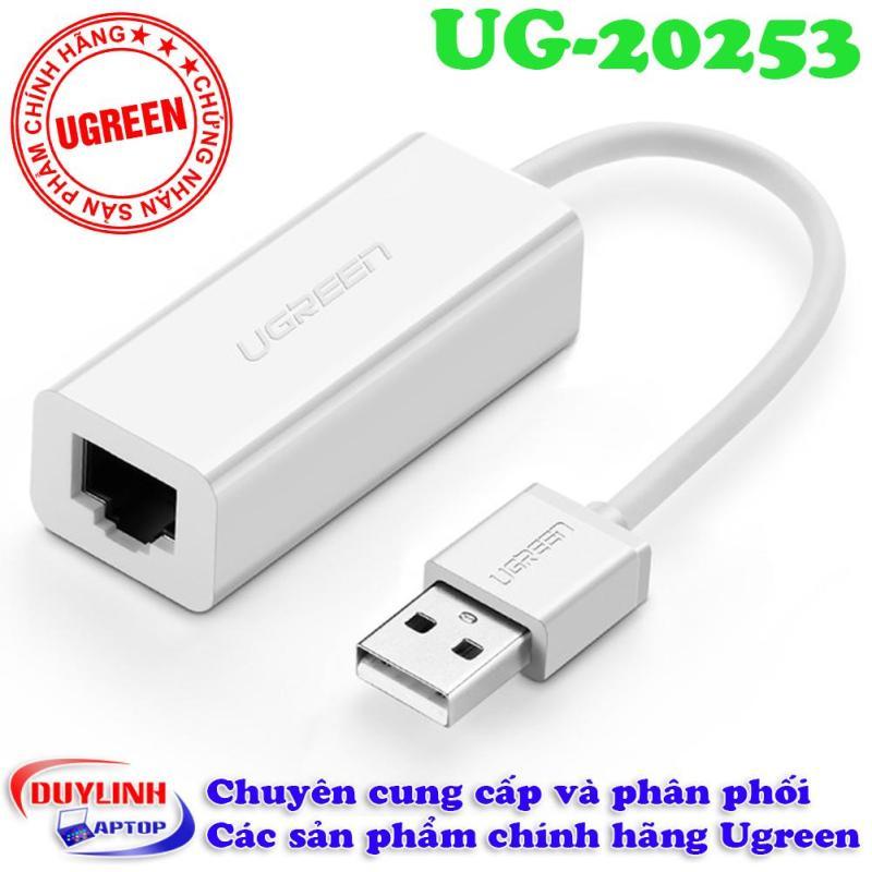 Bảng giá USB to LAN (Megabit) chất lượng tốt Ugreen 20253 Phong Vũ