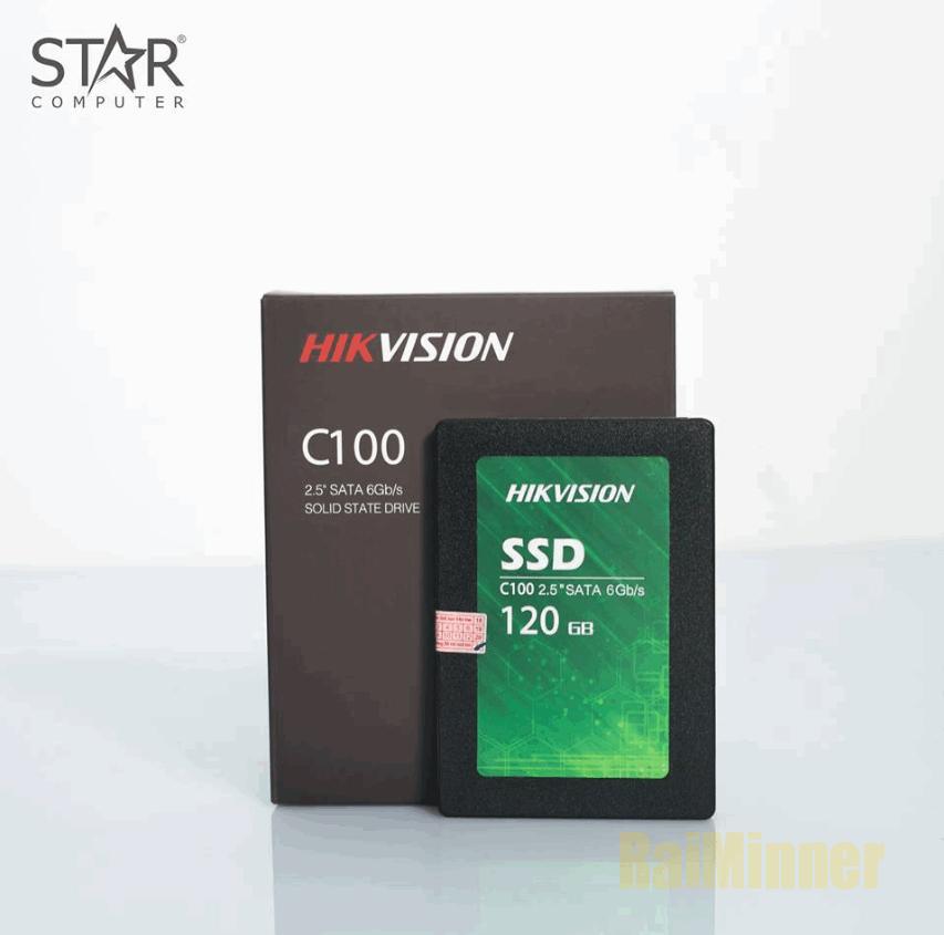 Hình ảnh SSD 120G Hikvision C100 Sata III 6Gb/s TLC Bảo Hành 2 Năm