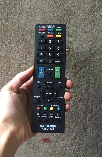 Bảng giá Điều khiển tivi  Sharp TV RM - L1238