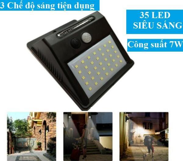 Đèn năng lượng mặt trời cảm biến hồng ngoaijv Solar 35 LED 3 chế độ - Loại 1