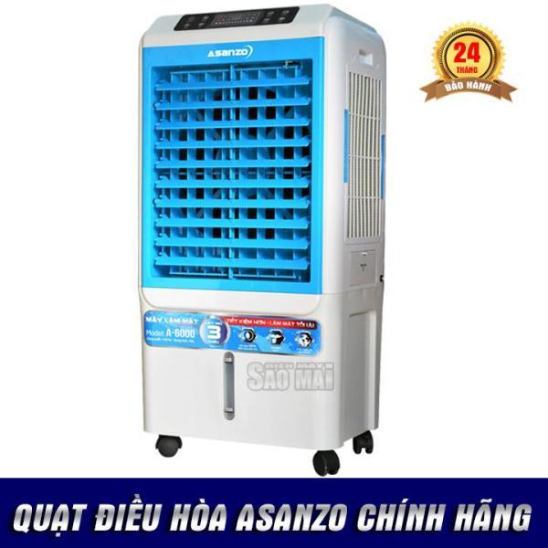 Bảng giá Quạt điều hòa hơi nước làm mát không khí ASANZO A-6000 ( 2018 )