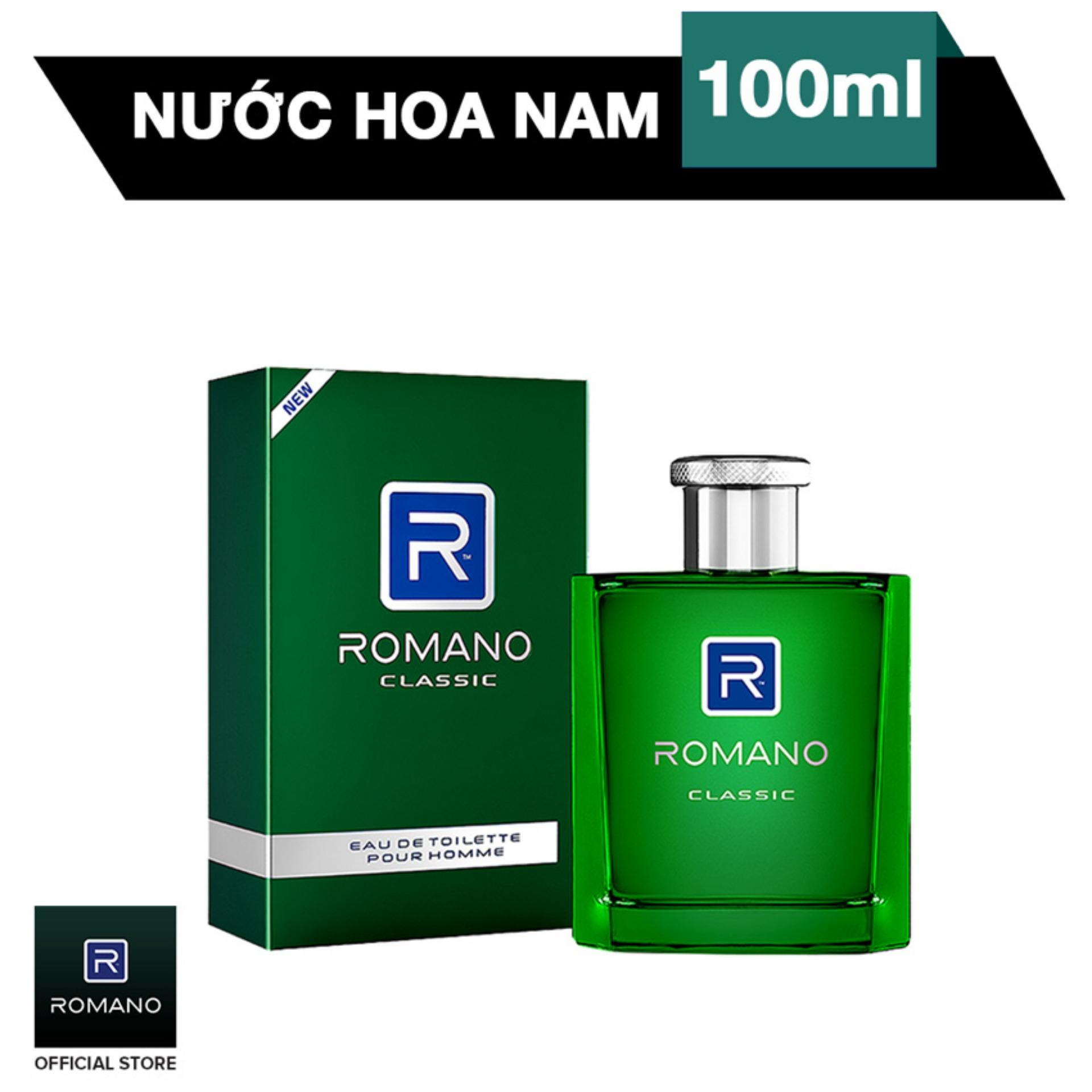 Romano nước hoa cao cấp Classic 100ml