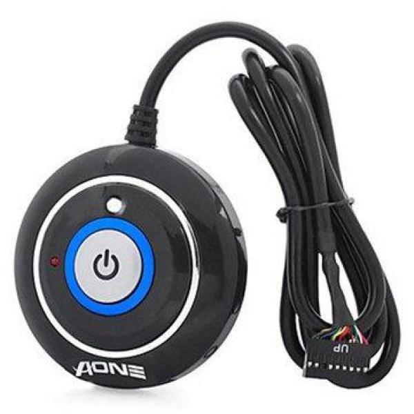 Nút nguồn máy tính AONE tròn dán