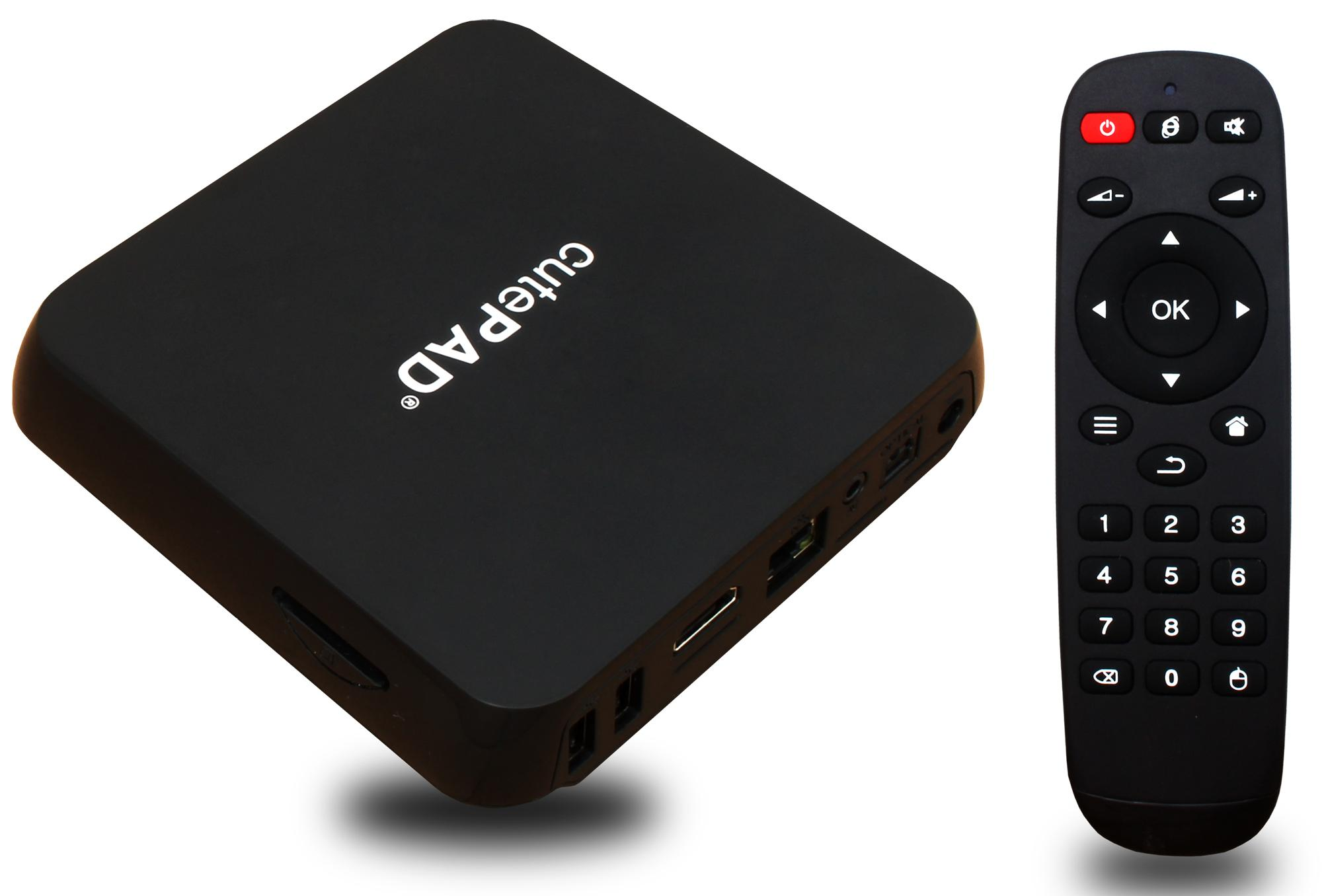 TV SmartBox cutePad TB-A8020 Đen