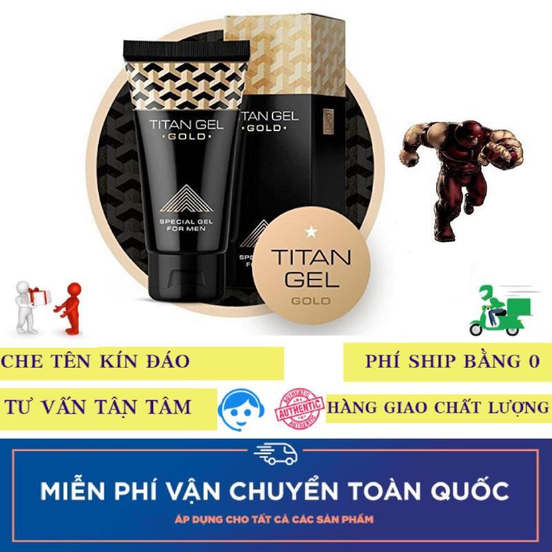 1 hộp gel sản phẩm Titan-Nga-Gold cao cấp (50ml) nhập khẩu