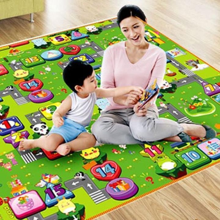 Hình ảnh Thảm chơi 2 mặt loại I cho bé Maboshi Size 1m8x2m