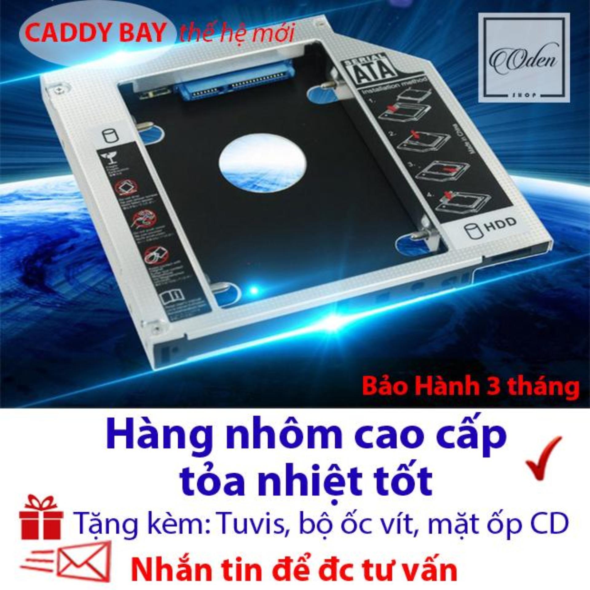 Hình ảnh Caddy Bay 9.5mm SATA 3.0 gắn thêm ổ cứng cho Laptop - oden432