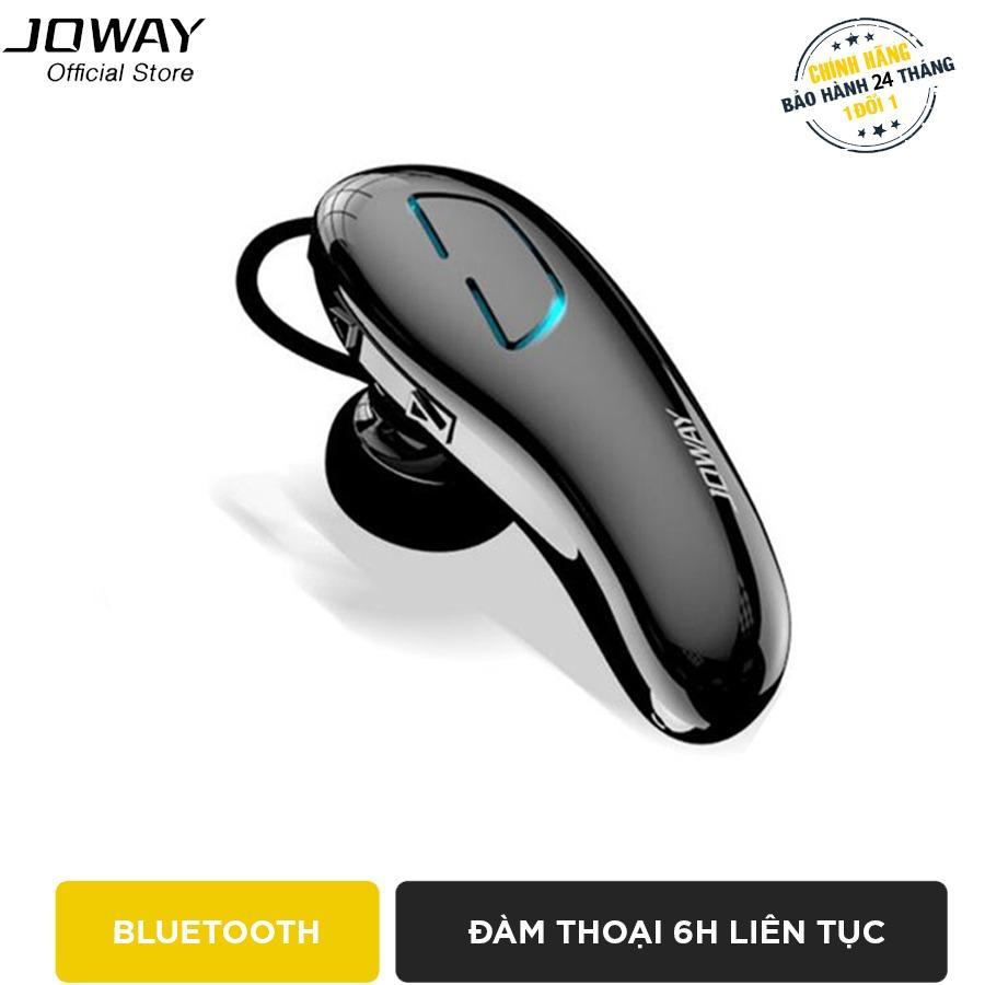 Tai nghe Bluetooth Joway H02 cho iphone, samsung hỗ trợ đàm thoại 6h, kết nối cùng lúc 2 thiết bị - Hãng phân phối chính thức