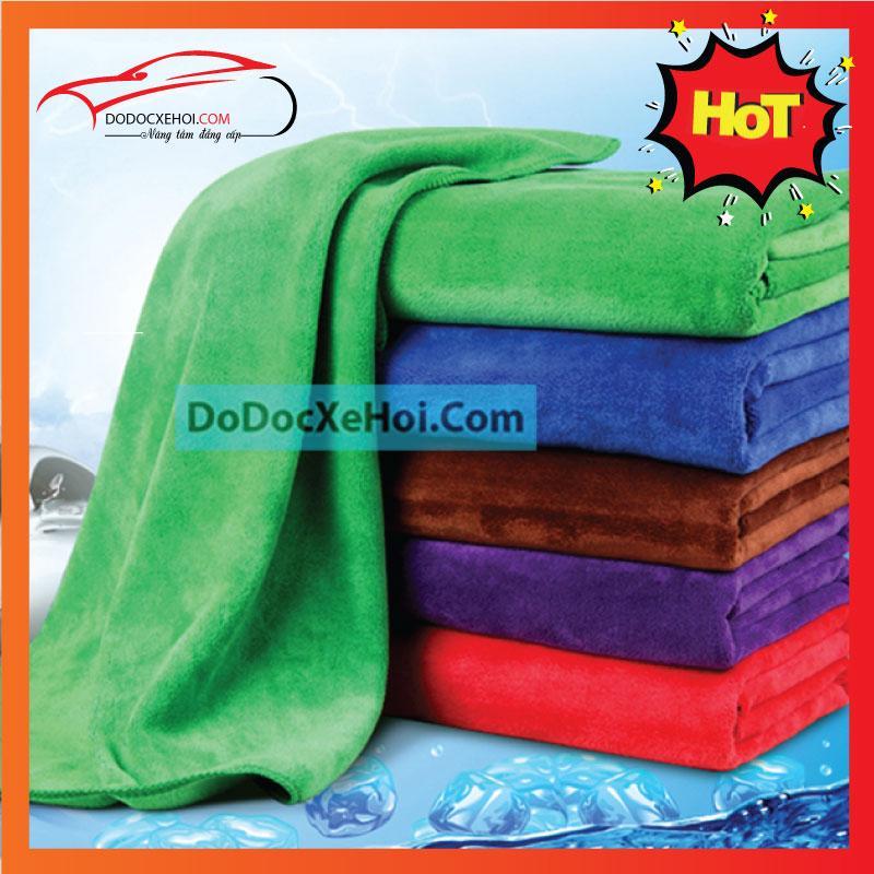 Bộ 5 khăn rửa xe chuyên dụng dùng cho ô tô 30 x 70 cm