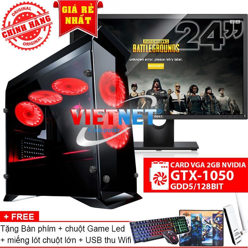Hình ảnh Bộ máy chiến game i5 4460 card GTX-1050 RAM 16GB 1TB LCD Dell 24 inch (chính hãng VietNet)