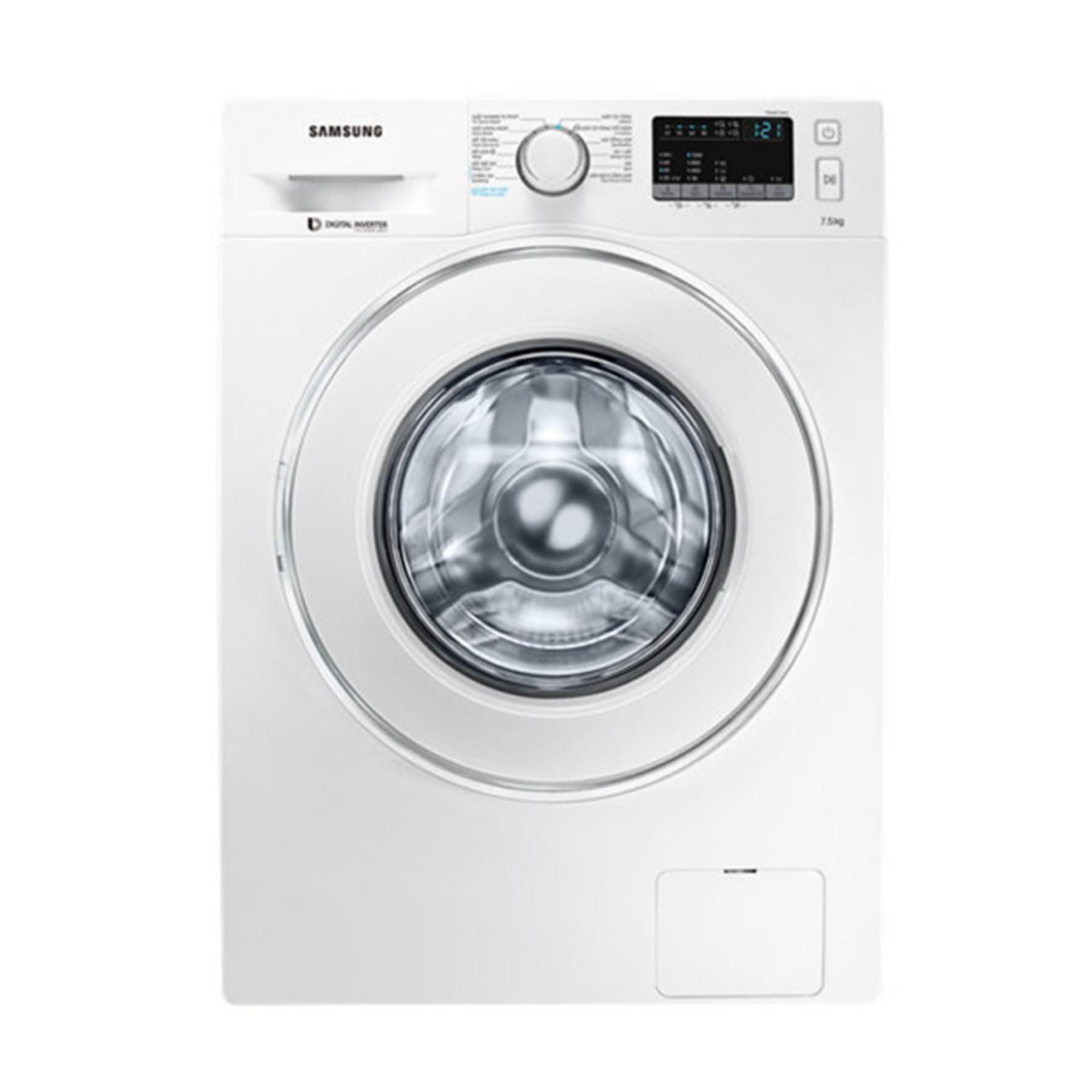 Hình ảnh Máy giặt cửa trước hơi nước Inverter Samsung WW75J42G0IW/SV 7.5kg (Trắng)