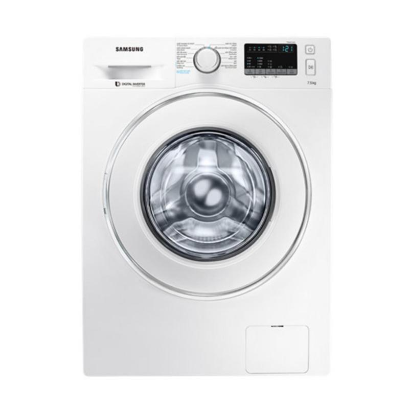 Máy giặt cửa trước hơi nước Inverter Samsung WW75J42G0IW/SV 7.5kg (Trắng)