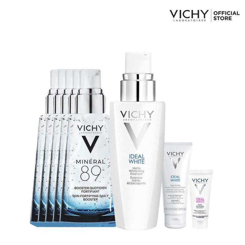 Bộ sản phẩm trắng da giảm thâm nám Vichy Ideal White Essence 30ML