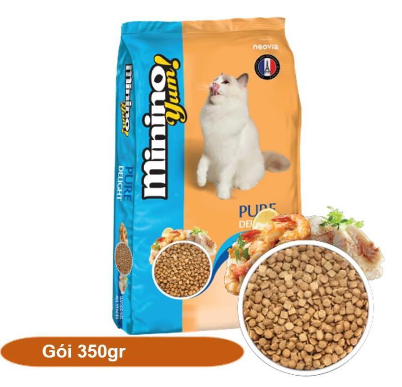 HCM-(1 Gói 350gr) Minino Yum ( BLISK mới ) - Thức ăn viên cao cấp cho mèo mọi lứa tuổi - (hanpet 203) thức ăn dành cho -HP10351TC