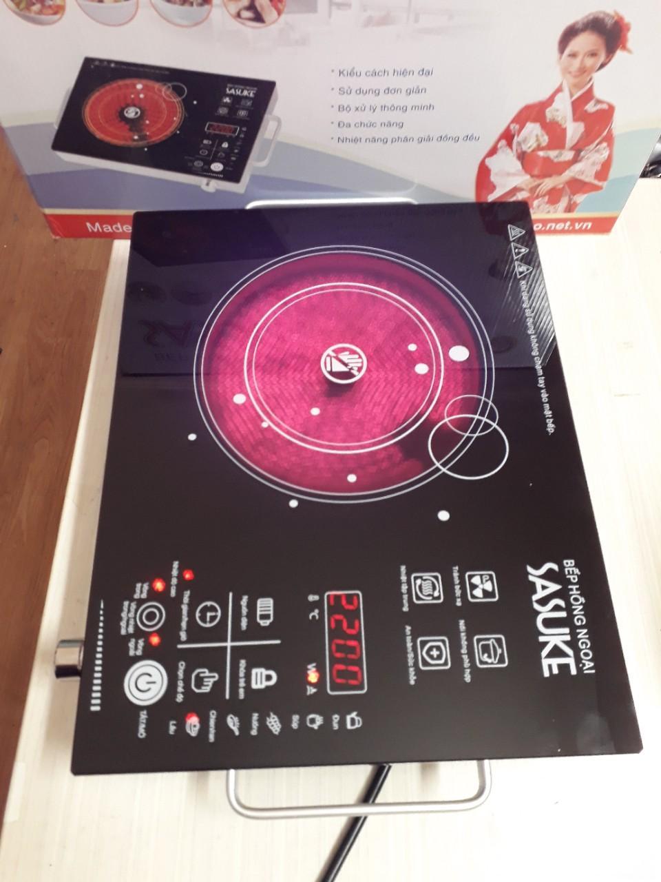 Hình ảnh BẾP HỒNG NGOẠI 2 VÒNG NHIỆT SASUKE MADE IN VIETNAM (Tiết kiệm 40% điện năng so với bếp hồng ngoại khác)-Chương trình siêu khuyến mại giảm giá cực sốc