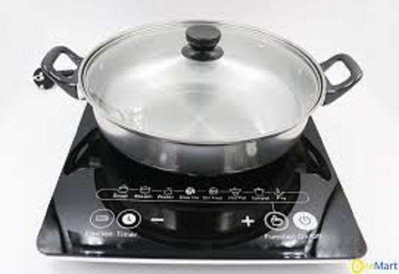 Giá [XẢ KHO 3 NGÀY] [Tặng nồi lẩu] Bếp từ đơn Hitachi model DH-15T7 (màu đen) siêu bền, Bếp điện, Bếp từ, Bếp điện từ, Bếp lẩu, Bếp từ bền, Bếp từ chất lượng, Bếp từ tốt, bảo hành 12 tháng – ĐIỆN MÁY VŨ GIA Điện máy Thiên