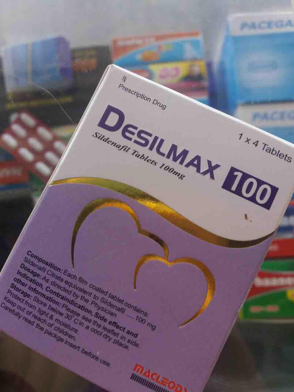 Thuốc tăng sinh lý nam Desilmax chính hãng