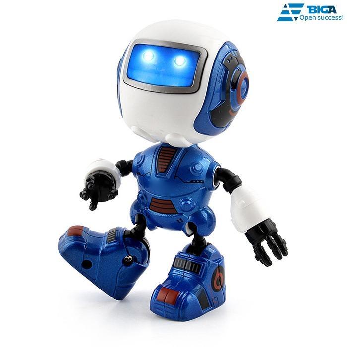 Hình ảnh Robot Tinh Nghịch Metal Naught Cảm Ứng Phát Âm Thanh (Màu Sắc Ngẫu Nhiên) US05534