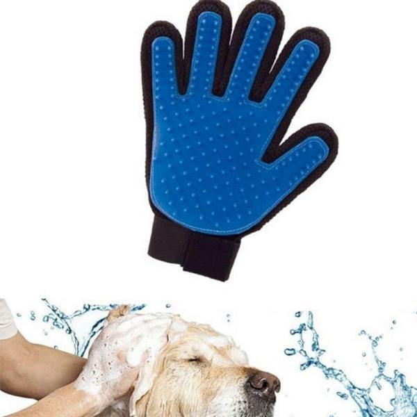 HN-Găng tay chải lông, lấy lông rụng cho chó mèo (hanpet 350) Gang tay siêu dính lông