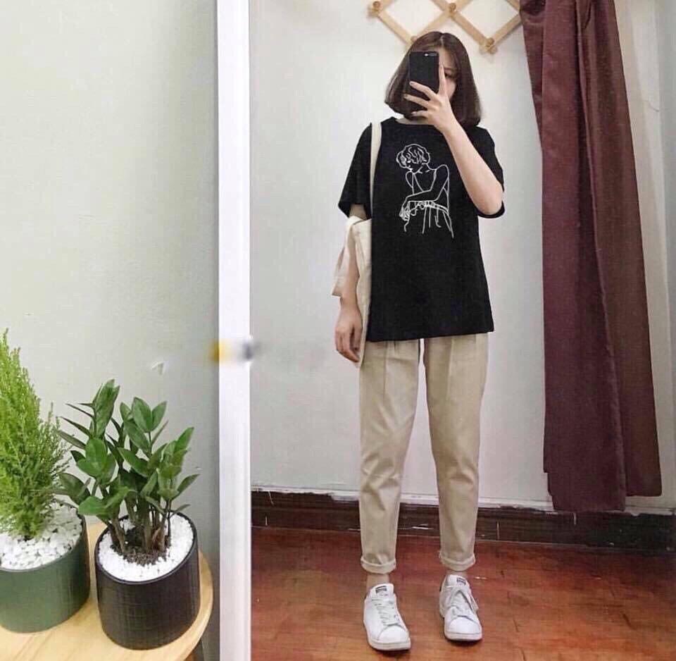 Quần Kaki Basic Pants Unisex Vải Mềm Mịn Siêu đẹp Đang Ưu Đãi