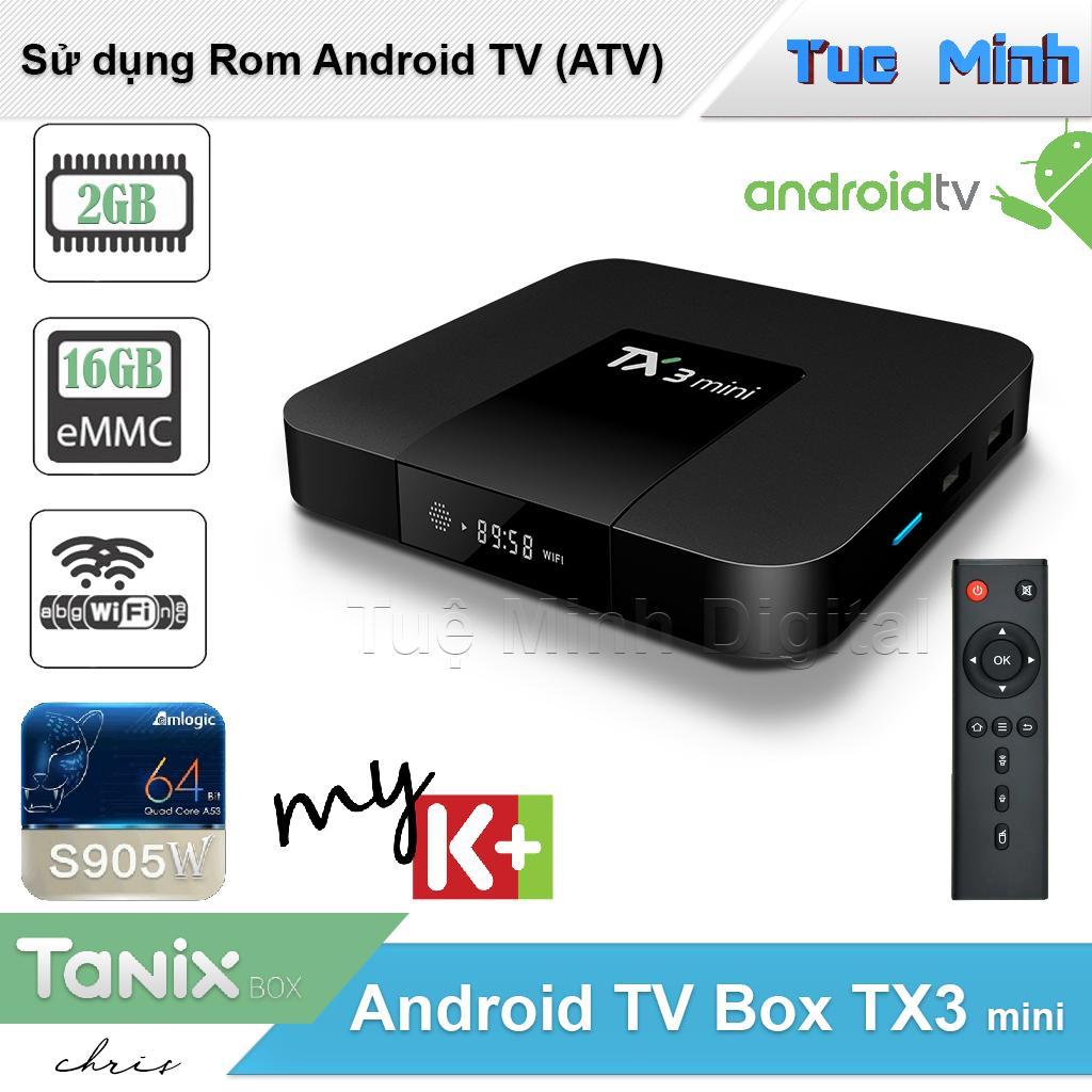 Android Tivi Box TX3 mini phiên bản 2G Ram và 16G bộ nhớ trong