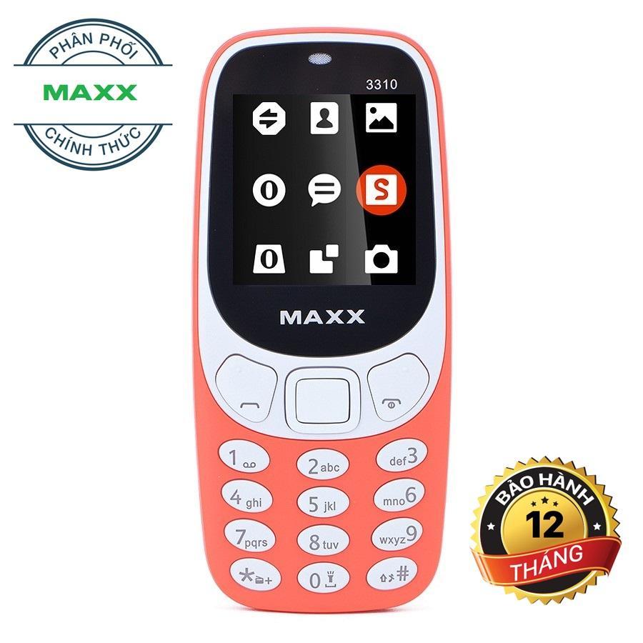 Hình ảnh ĐTDĐ MAXX N3310 Classic 2 Sim ( Đỏ)
