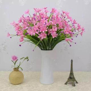 Giá 1 cành- Hoa giả đẹp hơn hoa thật- Cành hoa thủy tiên siêu xinh HTT-35 thumbnail