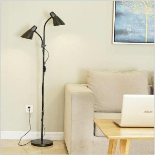 Đèn đứng để sàn MILAN sàn trang trí phòng khách 2 nhánh độc đáo kèm 2 bóng LED chuyên dụng thumbnail