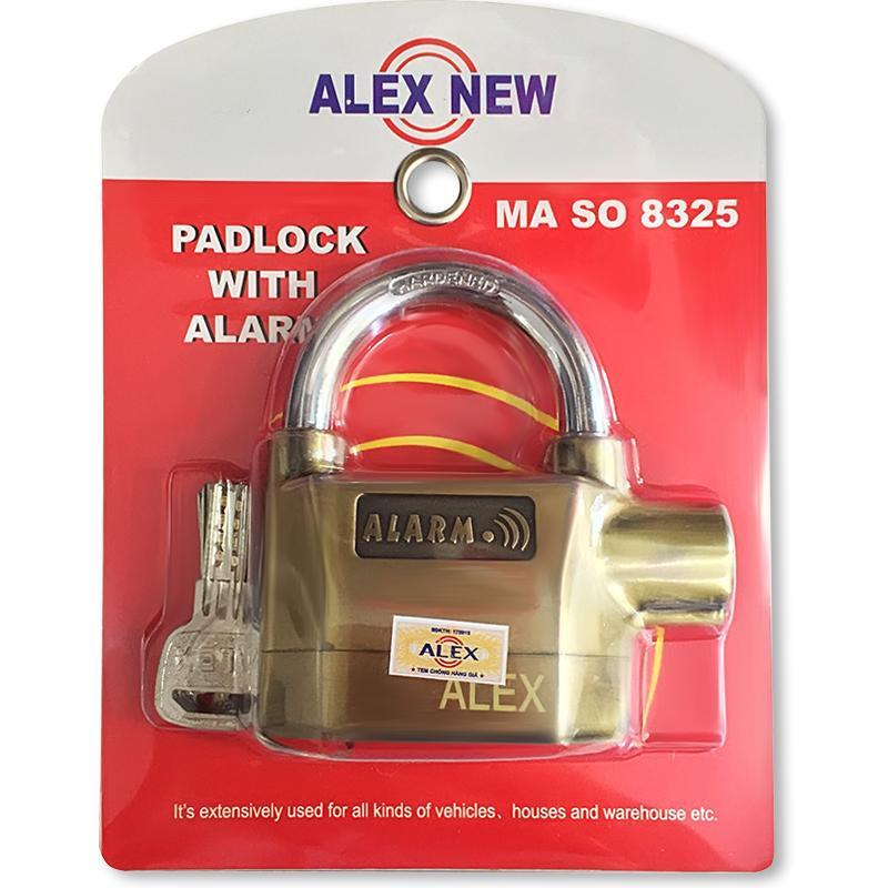 Hình ảnh Ổ khóa chống cắt báo động Alez New 8325 loại xịn