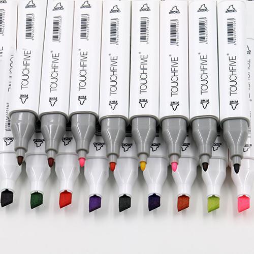 Mua Broadfashion Thiết kế hoạt hình đôi đầu Mark Pen Paint Sketch Drawing Ink Marker Pen