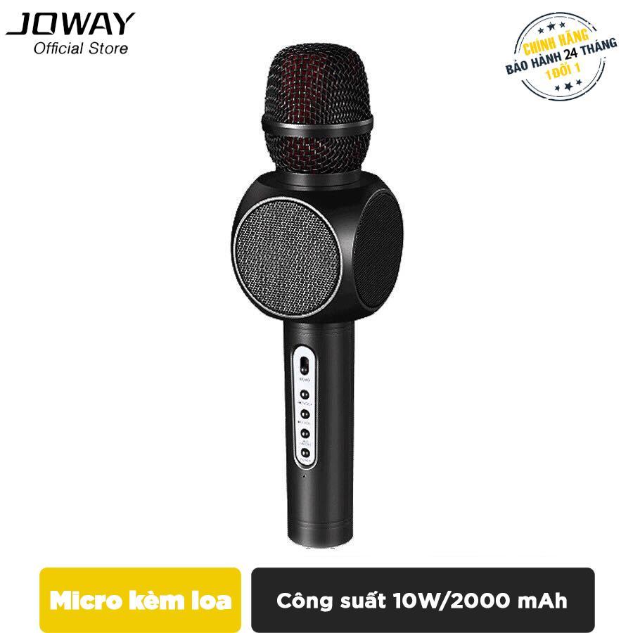 Hình ảnh Micro karaoke tích hợp Loa Bluetooth JOWAY KGB01 cho smartphone, ipad, samsung, iPhone - Hãng phân phối chính thức