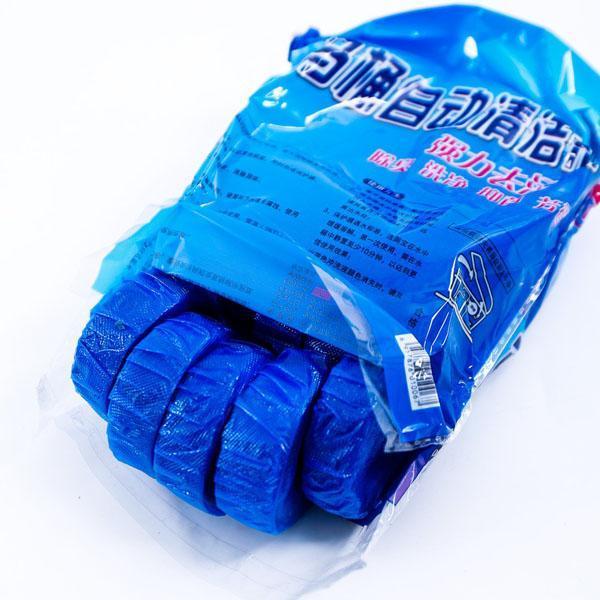Bộ 10 viên tẩy diệt khuẩn thả bồn cầu (xanh) Tmark