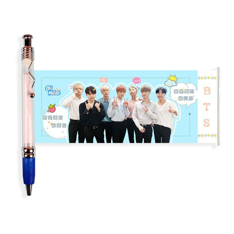 Mua Bút kéo in hình nhóm BTS