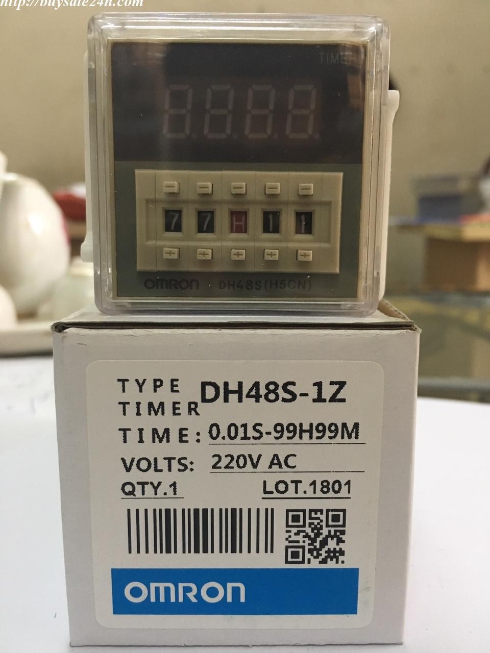 Timer điều khiển on delay 1 cấp điều khiển DH48 S-1Z