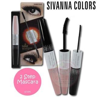Mascara 2 đâ u Chống Nước SIVANNA COLORS Two-Step Mascara thumbnail