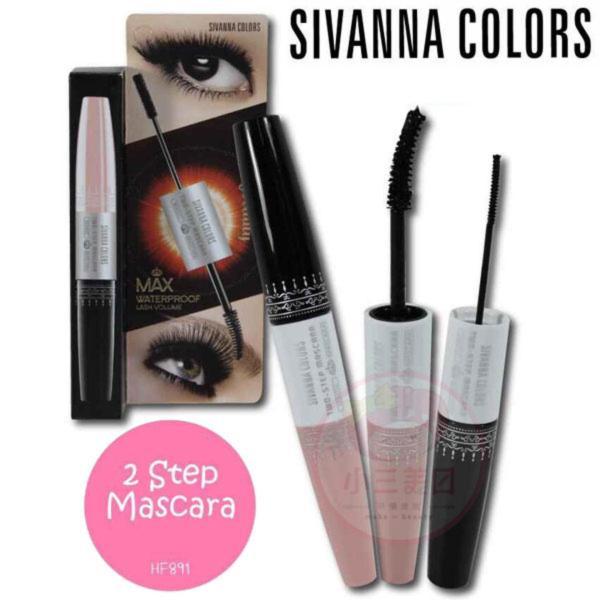 Mascara 2 đầu Chống Nước SIVANNA COLORS Two-Step Siêu hot giá rẻ