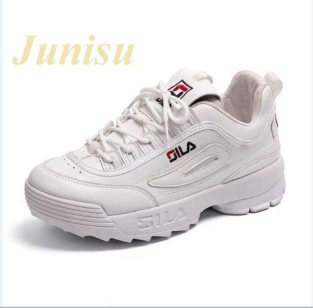 Hình ảnh [junisu] Giày thể thao gila hàng đẹp fullbox (02 màu Hồng, Trắng)