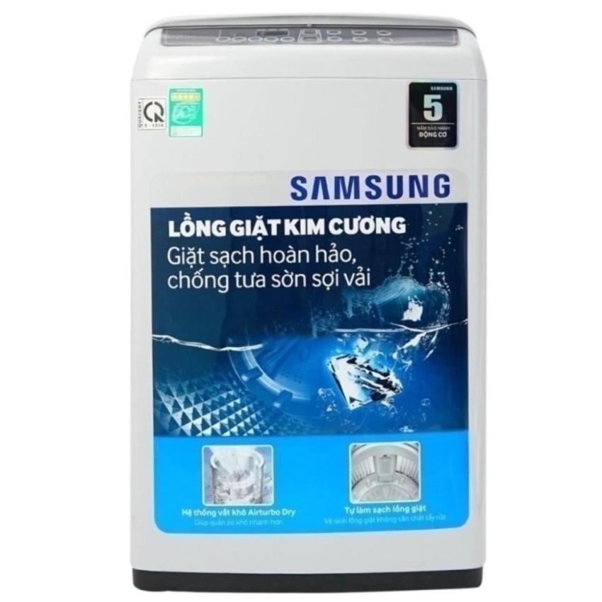 Hình ảnh Máy giặt cửa trên Lồng giặt kim cương Samsung WA72H4000SG/SV (7.2kg)