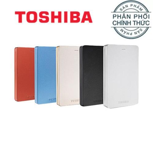 Hình ảnh Ổ cứng di động 3.0 Toshiba Canvio Alumy 1TB - Hãng Phân Phối Chính Thức
